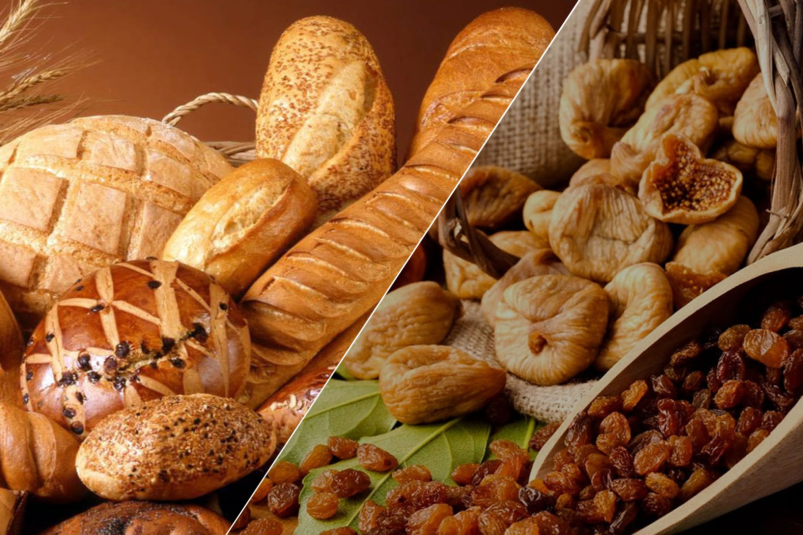 Nuts, Dry Fruit, Breads
